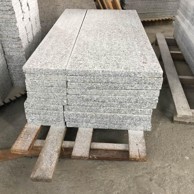 G603 Polished Granite Stone Tile Slab Alkali Resistance For Countertop